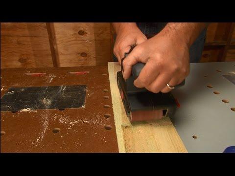 How To Use A Belt Sander Ace Tips Amp Advice