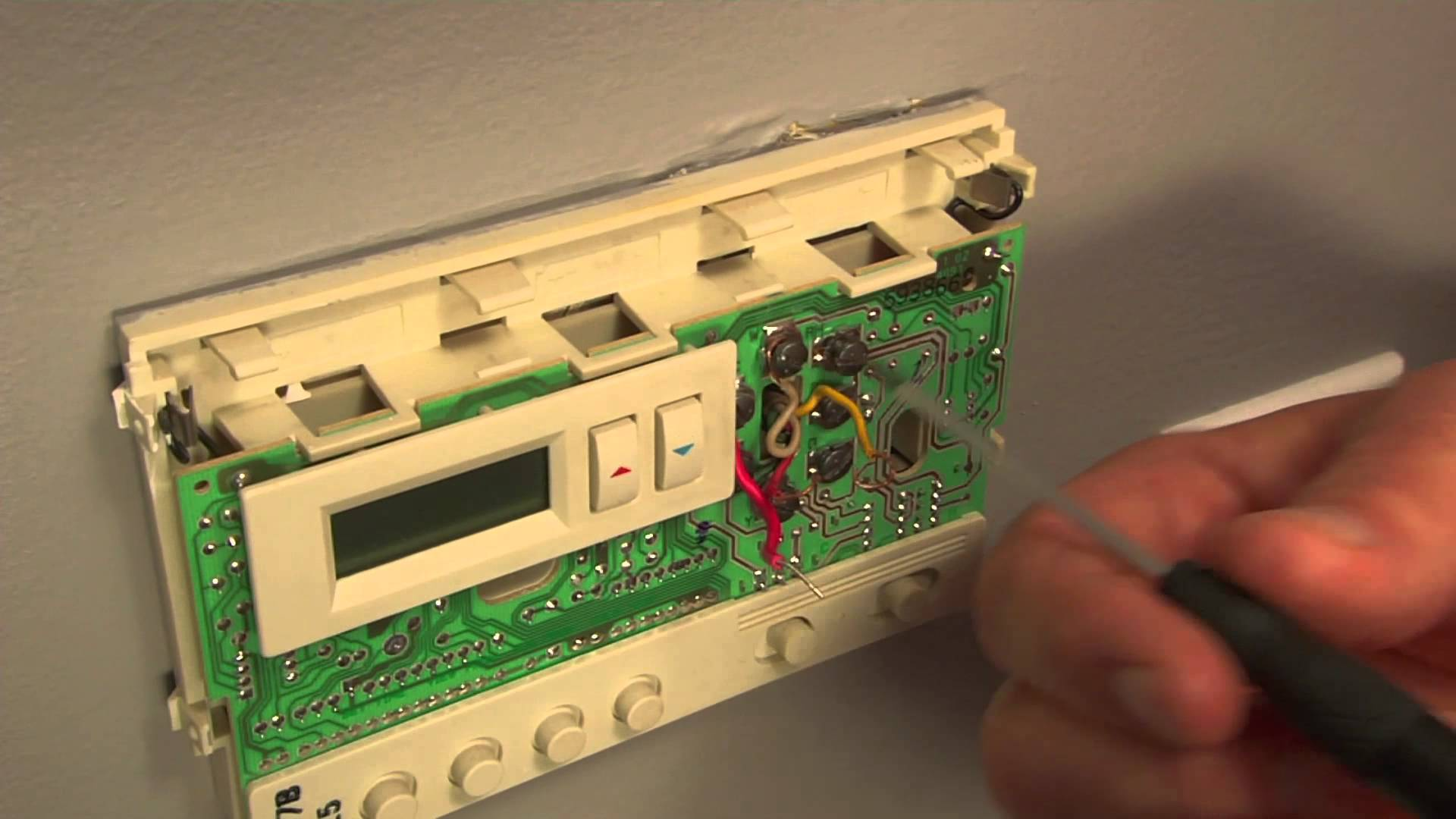 How To Replace A Programmable Thermostat