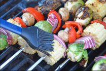 Grilled Vegetable Shish Kabobs Recipe