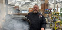 The Best Ham Recipe For Your Big Green Egg