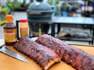 How to Make Ribs on the Big Green Egg